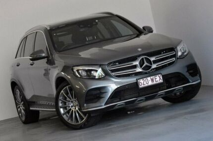 2015 Mercedes-Benz GLC220 X253 d 9G-TRONIC 4MATIC Grey 9 Speed Sports Automatic Wagon