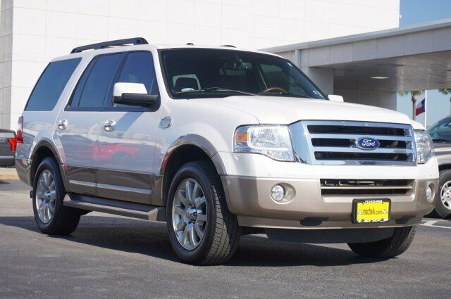 Owner 2012 Ford Expedition King Ranch 92978 Miles White Sport Utility Gas/Ethanol V8 5