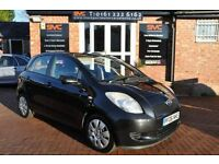 TOYOTA YARIS 1.3 T3 VVT-I 5d 86 BHP 2 OWNERS FROM NEW (black) 2006