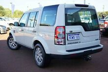2010 Land Rover Discovery 4 Series 4 10MY TdV6 CommandShift White 6 Speed Sports Automatic Wagon Wangara Wanneroo Area Preview