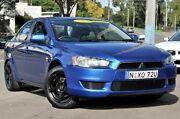 2008 Mitsubishi Lancer CJ MY08 ES Blue 6 Speed Constant Variable Sedan North Gosford Gosford Area Preview