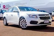 2016 Holden Cruze JH Series II MY16 Equipe White 6 Speed Sports Automatic Sedan Balcatta Stirling Area Preview