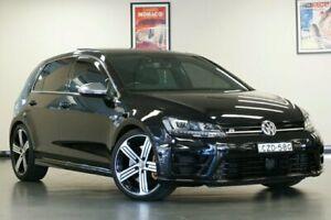 2015 Volkswagen Golf VII MY15 R Black Semi Auto Hatchback