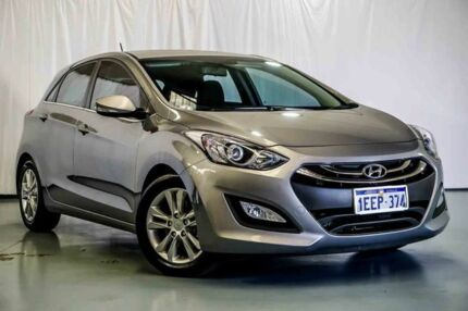 2013 Hyundai i30 GD Elite Grey 6 Speed Manual Hatchback Wangara Wanneroo Area Preview