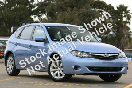 2010 Subaru Impreza MY10 R (AWD) Silver 5 Speed Manual Hatchback Brookvale Manly Area Preview