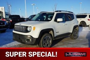 2015 Jeep Renegade 4X4 NORTH EDITION Accident Free,  Heated Seat