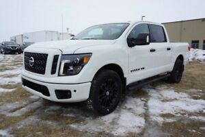 2018 Nissan Titan 4X4 MIDNIGHT CREW CA NAVIGATION, BACK UP CAMER