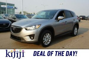 2015 Mazda CX-5 AWD GS Accident Free,  Leather,  Heated Seats,