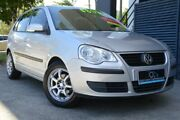 2008 Volkswagen Polo 9N MY08 Upgrade TDI Silver 5 Speed Manual Hatchback Ashmore Gold Coast City Preview