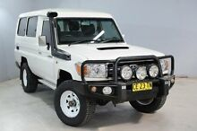 2011 Toyota Landcruiser VDJ78R 09 Upgrade GXL (4x4) White 5 Speed Manual TroopCarrier Aberdare Cessnock Area Preview
