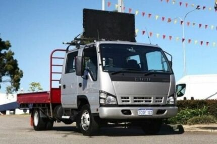 2007 Isuzu NC  Silver Welshpool Canning Area Preview