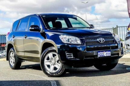 2012 Toyota RAV4 ACA33R 08 Upgrade CV (4x4) Black 4 Speed Automatic Wagon Wangara Wanneroo Area Preview