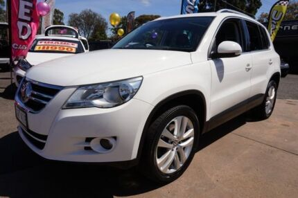 2009 Volkswagen Tiguan 5N MY10 147TSI 4MOTION Candy White 6 Speed Sports Automatic Wagon Dandenong Greater Dandenong Preview