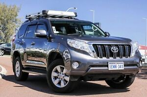 2014 Toyota Landcruiser Prado KDJ150R MY14 GXL Grey 5 Speed Sports Automatic Wagon East Rockingham Rockingham Area Preview