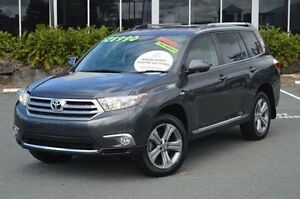 2010 Toyota Kluger GSU45R KX-S AWD Grey 5 Speed Sports Automatic Wagon Highland Park Gold Coast City Preview