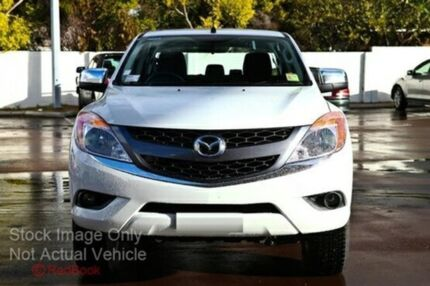 2015 Mazda BT-50 B32Q XTR Cool White 6 Speed Automatic Utility Cannington Canning Area Preview
