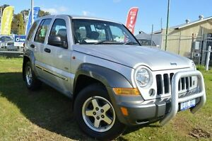 2006 Jeep Cherokee KJ MY2006 Sport Silver 4 Speed Automatic Wagon Beckenham Gosnells Area Preview
