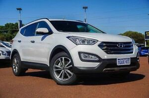 2015 Hyundai Santa Fe DM3 MY16 Elite White 6 Speed Sports Automatic Wagon Wangara Wanneroo Area Preview