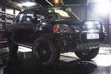 2013 Nissan Navara D22 S5 ST-R Black 5 Speed Manual Utility Wangara Wanneroo Area Preview