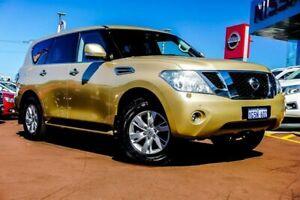 2015 Nissan Patrol Y62 MY15 TI-L Gold 7 Speed Sports Automatic Wagon