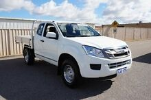 2013 Isuzu D-MAX MY12 EX White 5 Speed Manual Cab Chassis Pearsall Wanneroo Area Preview