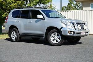 2013 Toyota Landcruiser Prado KDJ150R GXL Silver Pearl 5 Speed Sports Automatic Wagon Dalby Dalby Area Preview