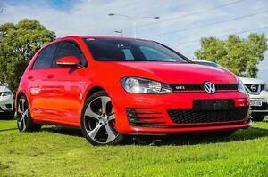 2014 Volkswagen Golf VII MY14 GTI DSG Red 6 Speed Sports Automatic Dual Clutch Hatchback Wangara Wanneroo Area Preview