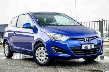 2015 Hyundai i20 PB MY14 Active Blue 6 Speed Manual Hatchback Wangara Wanneroo Area Preview