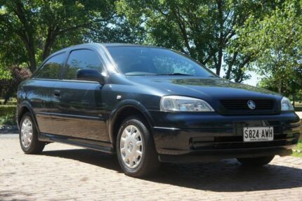 2002 Holden Astra TS City Blue 4 Speed Automatic Hatchback Blair Athol Port Adelaide Area Preview