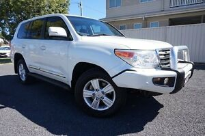 2014 Toyota Landcruiser VDJ200R MY13 Sahara Crystal Pearl 6 Speed Sports Automatic Wagon Dalby Dalby Area Preview