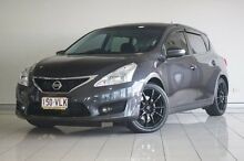 2013 Nissan Pulsar C12 ST-S Grey 6 Speed Manual Hatchback Southport Gold Coast City Preview