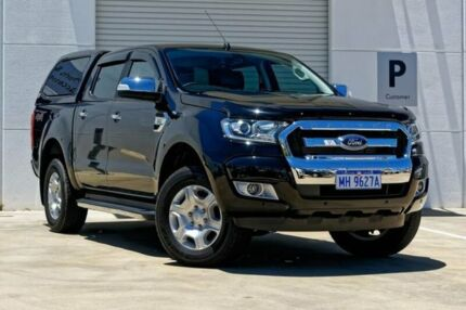 2017 Ford Ranger PX MkII 2018.00MY XLT Double Cab Black 6 Speed Sports Automatic Utility Mandurah Mandurah Area Preview