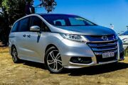 2014 Honda Odyssey RC MY14 VTi-L Silver 7 Speed Constant Variable Wagon Wangara Wanneroo Area Preview