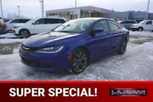 2015 Chrysler 200 S ALL WHEEL DRIVE Accident Free,  Navigation (