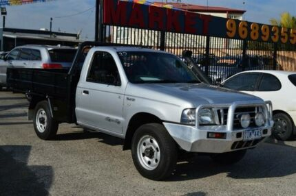 2004 Ford Courier PH GL (4x4) Silver 5 Speed Manual Cab Chassis Tottenham Maribyrnong Area Preview