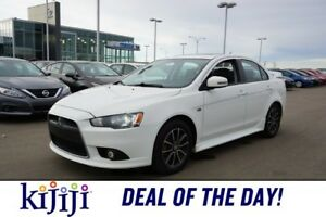 2015 Mitsubishi Lancer SE Accident Free,  Leather,  Sunroof,
