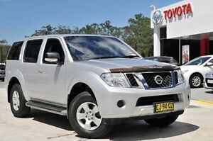 2012 Nissan Pathfinder R51 Series 4 ST (4x4) Silver 5 Speed Automatic Wagon Wyoming Gosford Area Preview