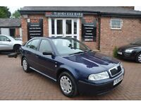 SKODA OCTAVIA 1.9 AMBIENTE TDI 5d 89 BHP RECENT CLUTCH AND FLYWH (blue) 2003