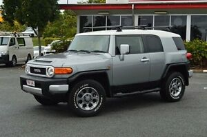 2012 Toyota FJ Cruiser GSJ15R Silver 5 Speed Automatic Wagon Highland Park Gold Coast City Preview