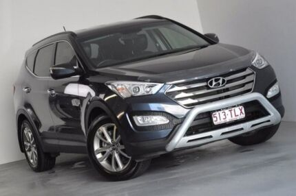 2013 Hyundai Santa Fe DM MY14 Elite Blue 6 Speed Sports Automatic Wagon