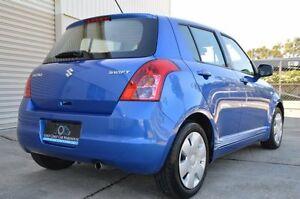 2010 Suzuki Swift RS415 GLX Blue 5 Speed Manual Hatchback Ashmore Gold Coast City Preview