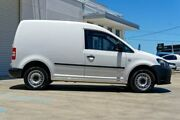 2013 Volkswagen Caddy 2KN MY13 TSI160 SWB White 5 Speed Manual Van Mandurah Mandurah Area Preview