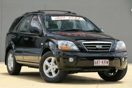 2007 Kia Sorento BL MY08 EX Black 5 Speed Sports Automatic Wagon Yeerongpilly Brisbane South West Preview
