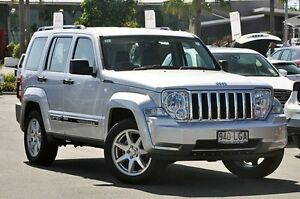 2008 Jeep Cherokee KK MY08 Limited Bright Silver 4 Speed Automatic Wagon Robina Gold Coast South Preview