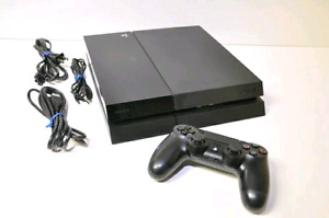New Low Price! PS4 with box, accessories, and games!