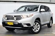 2011 Toyota Kluger GSU45R MY11 KX-R AWD Silver 5 Speed Sports Automatic Wagon Thornlie Gosnells Area Preview