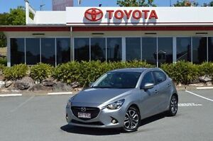 2015 Mazda 2 Silver Manual Hatchback Highland Park Gold Coast City Preview