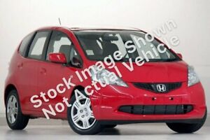 2010 Honda Jazz GE MY10 GLi Red 5 Speed Automatic Hatchback Victoria Park Victoria Park Area Preview