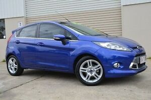 2013 Ford Fiesta Blue Sports Automatic Dual Clutch Hatchback Ashmore Gold Coast City Preview