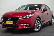 2018 Mazda 3 BN5478 Maxx SKYACTIV-Drive Sport Red/Black 6 Speed Sports Automatic Hatchback Edgewater Joondalup Area Preview